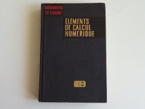 Elements de calcul numerique,B.Demidovitch-I.Maron 1973