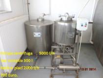 Utilaje pentru procesarea laptelui