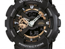 Ceas sport casio g shock ga110 rg ,gold-black-matte,original