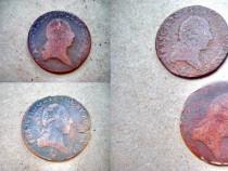 A571-Monede Kreuzer vechi bronz Imperiul Austriac Ardeal.