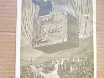 A622-Salutari din Badgoslein in balon-Carte Postala veche.