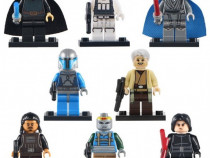 Set 8 Minifigurine tip Lego Star Wars cu Mandalorian Trooper