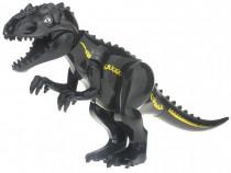 Dinozaur urias tip Lego de 30 cm: Black T-Rex