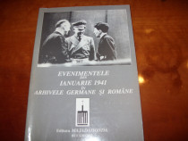 Evenimentele din ianuarie 1941 in arhivele germane si romane
