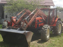 Tractor same laser 130 cu încărcător frontal