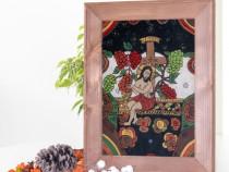 Iisus- Vita-de-Vie-Icoana pe sticla