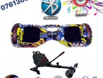 HoverBoard Graffity Bluetooth + Boxa + LED-URI ARIPI-Geanta