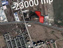 Teren 23000 mp deschidere 100 ml la Soseua de Centura Tunari