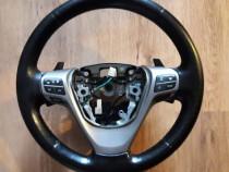 Volan piele cu padele si comenzi volan Toyota Avensis T27