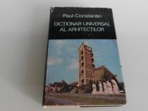 Arhitectura dictionar universal al arhitectilor constantin