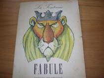 La Fontaine - Fabule (format mare, ilustratii de Eugen Taru)