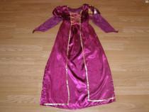 Costum carnaval serbare regina printesa cadana 7-8 ani