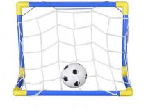 Set Porti Fotbal pentru Copii de lungime 110 cm + minge + Po