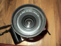 Obiectiv foto minolta 28-80mm cu capac si parasolar,function