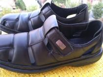 Sandale piele Rieker, mar 40, (26 cm)