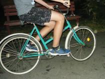 Bicicleta vintage de colecție, totul original, funcțională