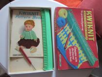 Dispozitiv+carte tricotat pt copii-Kwiknit 1940 Germany-cado