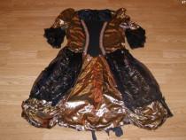 Costum carnaval serbare rochie medievala pentru adulti S