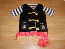 Costum carnaval serbare pirat pentru copii de 4-5-6 ani