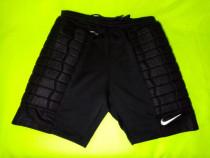 Pantaloni nike șort fotbal portar impecabili l cu protectii