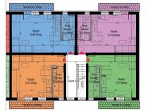 Proiect nou// garsoniera cu teren/balcon st.George Cristinel