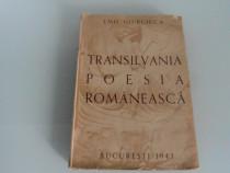 Dedicatie onisifor ghibu transilvania in poezia romaneasca