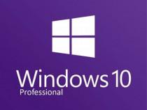 Microsoft Windows 10 Pro licenta pe viața