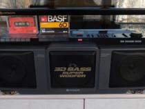 Radio casetofon dublu hitachi 3d50