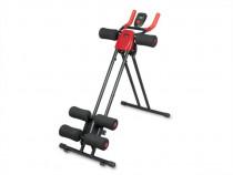 Aparat Fitness AB Dual Trainer Neo Sport, Negru