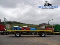 Remorca de transportat baloti bicchi rb 14 r