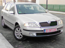 Skoda Octavia 2008, 1.9 TDI, interior crem, recent Germania