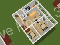 IN RATE Fara avans Apartament cu 3 camere Bucium