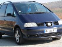 Seat Alhambra  7 locuri, 1.9 TDI Diesel, an 2001
