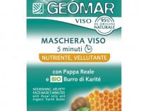 Masca nutritiva unt karite si laptisor de matca Geomar 15 ml