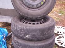 Seturi 4 roti 195/65/15 M+S VW,audi,seat,skoda, etc.