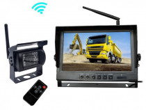 "Kit marsarier wireless cu camera si display de 9"" 12V~24V"