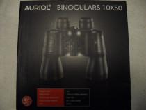 Auriol, germania, binoclu 10x50, nou, la cutie, pachet