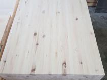 Blat 800 x 600 x30 mm din lemn masiv de pin