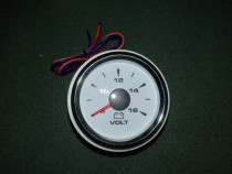 Ceas voltmetru 8-16V cu 7 culori