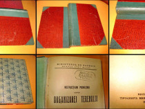 7225-IRomania.Carte veche militara rara.Ministerul de razboi