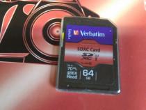 Card SDXC Verbatim 64 Gb 70Mb/s