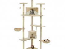 Ansamblu pisici cu stâlpi din funie sisal, 170527