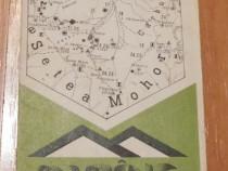 Harta turistica montana Parang - Popescu Nae
