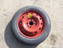 Roată rezervă Fiat punto