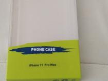 Husa pentru iPhone 11 pro max,silicon,Transparent