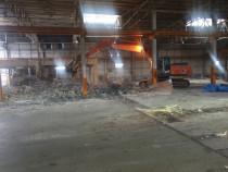 Excavator demolari