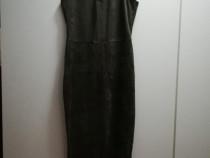 Rochie kaki din catifea elastica Noua fara eticheta