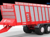 Metal-Fach T750-40m3 remorca