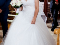 Foarte frumoasă rochia de mireasă