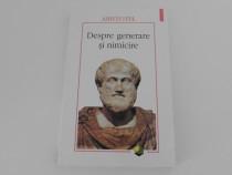 Aristotel despre generare si nimicire